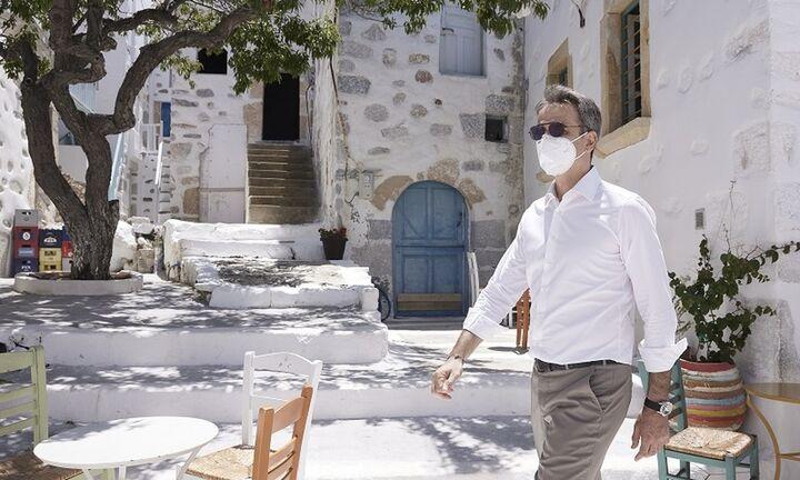 Μητσοτάκης από Αστυπάλαια: Ανοιχτό το ενδεχόμενο μείωσης ΦΠΑ (pic) - Fpress.gr